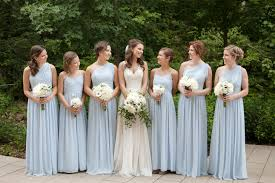dusty blue bridesmaid dresses oasis amor fashion