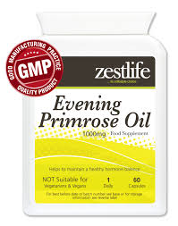 Evening Primrose Oil For Hair Loss Zestlife Evening Primrose Oil 1000mg 60 Soft Gel Capsules Zestlife
