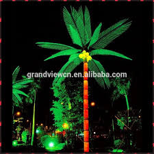 Outdoor Christmas Decorations Palm Tree by Led Outdoor Palm Tree Light For Street Decoration And New Year