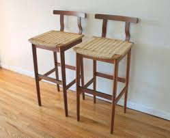 furniture excellent mid century low back bar stools on laminate