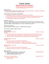 Dental Assistant Job Duties Resume by Blank Dental Assistant Resume Template