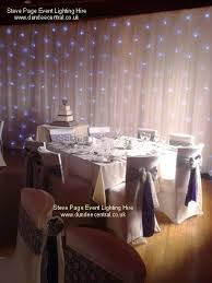 Wedding Backdrop Uk Steve Page Lighting Hire Fairy Light Backdrops And Starcloths