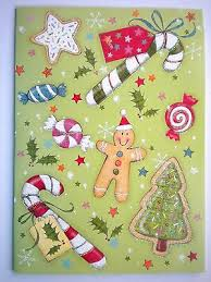 lot of 4 paper magic glitter christmas cards u2022 6 99 picclick