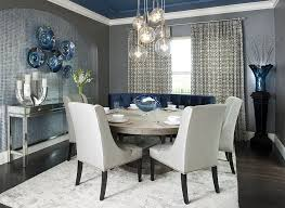 modern round dining room table large modern dining tables modern home design