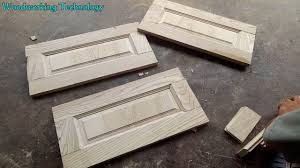 Making Cabinet Door by Smart Woodworking Technology Traditional Making Cabinet Door