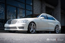 lexus hre wheels mercedes s class with 22in hre p107 wheels exclusively from butler