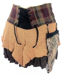 genuine scottish tartan designer funky kilt steam punk psytrance