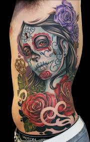 87 best sugar skull tattoos images on pinterest