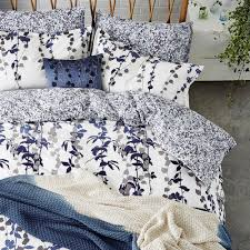 clarissa hulse boston ivy duvet cover indigo pillow cases