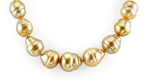 necklace gold pearl images Golden south sea pearl necklace the pearl source jpg