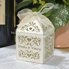 personalized wedding favor boxes wedding souvenir box party favor bags laser cut vines sweet
