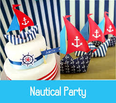 Nautical Party Theme - 110 best nautical theme birthday images on pinterest nautical