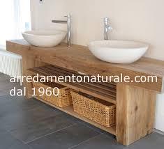 mobile bagno grezzo mobili bagno in legno home interior idee di design tendenze e
