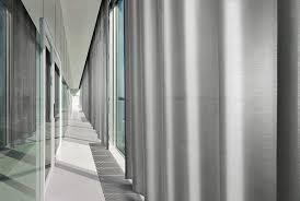 transparent acoustic curtain fabrics u2022 materia