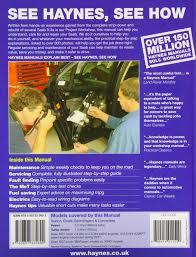 saab 9 3 petrol u0026 diesel 07 11 haynes repair manual haynes