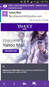 yahoo app for android yahoo mail for android