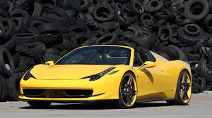 ferrari yellow 458 yellow ferrari 458 supercar tire on the background wallpapers and