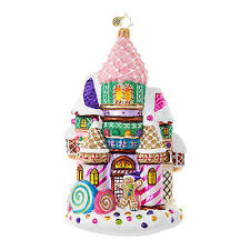 candy ornaments christopher radko ornaments radko candy candy castle