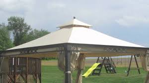 Pergola Replacement Canopy by Kmart Martha Stewart Shelter Island Gazebo And Arcata Gazebo