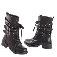 womens black boots sale sale black combat ankle boots