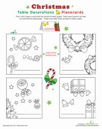 print and color 7 christmas decorations kids can make themselves