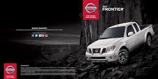 frontier nissan 2017 view nissan e brochures nissan dealership kingston ontario