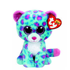 ty beanie boos small sydney leopard soft toy claire u0027s