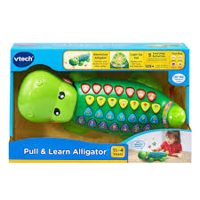 vtech pull and learn alligator toys