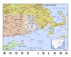 Road Map Of Virginia Maps Of Rhode Island State Collection Of Detailed Maps Of Rhode
