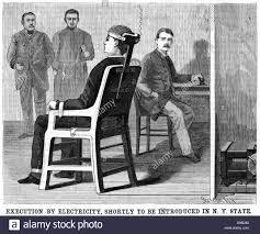 execution chaise electrique vue d artiste d exécution par chaise électrique établi après des