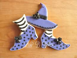 lizy b witch hat cookies