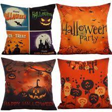 burlap square home décor pillows ebay