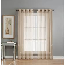 Curtains At Ross Stores by Amazon Com Window Elements Sheer Elegance Grommet 108 X 84 In