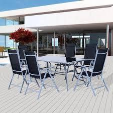 Rattan Esszimmergarnitur Gebraucht Outsunny 7 Tlg Sitzgarnitur Sitzgruppe Real