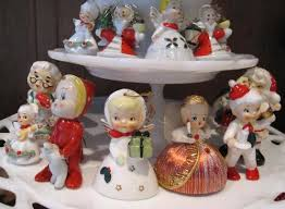 Decoration Christmas Vintage by Best 25 Christmas Figurines Ideas On Pinterest Christmas Clay