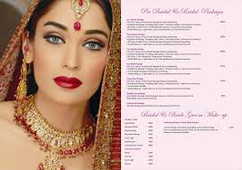 bridal makeup package to charisma