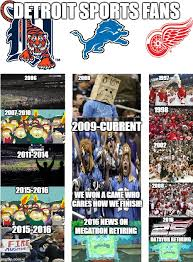 Detroit Meme - red wings tigers and lions fans imgflip