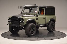 land rover kahn price 1997 land rover defender 90 stock 6967c for sale near greenwich