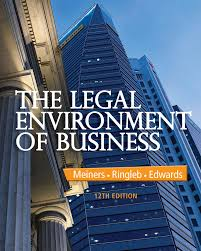 the legal environment of business 12th edition 9781285428222