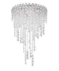 Small Crystal Pendant Lights by Schonbek Ch1201 Chantant 14 Inch Wide 4 Light Mini Pendant