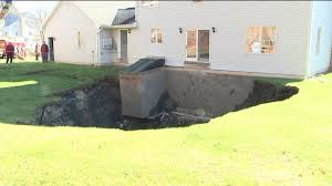 Home And Backyard Wnep Family Fears Backyard Hole Could Swallow Home Wnep Com