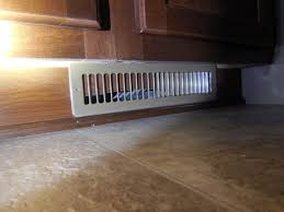 Toe Kick For Kitchen Cabinets by The Case Of The Duct That Wasn U0027t There