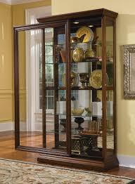curio cabinet 21015 two way sldg door curio