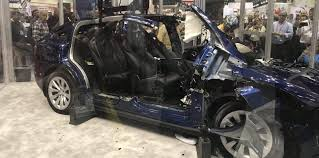 mercedes benchmarked and dismantled a tesla model x in the