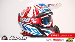 airoh motocross helmet casque motocross airoh twist leader 2017 youtube