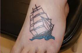 boat foot tattoo 5384751 top tattoos ideas