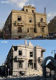 syria before and after 26 before and after pics reveal what war has done to syria