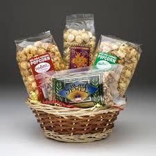 popcorn gift baskets popcorn gift basket