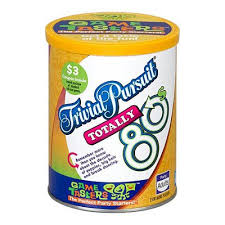 trivial pursuit 80s trivial pursuit totally 80s taster toys
