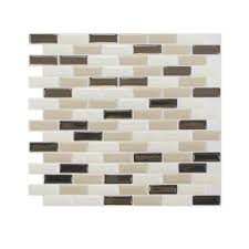 Home Depot Kitchen Tile Backsplash Home Depot Peel And Stick Backsplash Rv Mods Smart Tiles Self